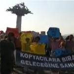 İzmirliler 2012 KPSS ve ÖSYM'yi Protesto Etti