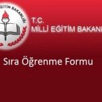 2012 KPSS Branş Sıralama Formu